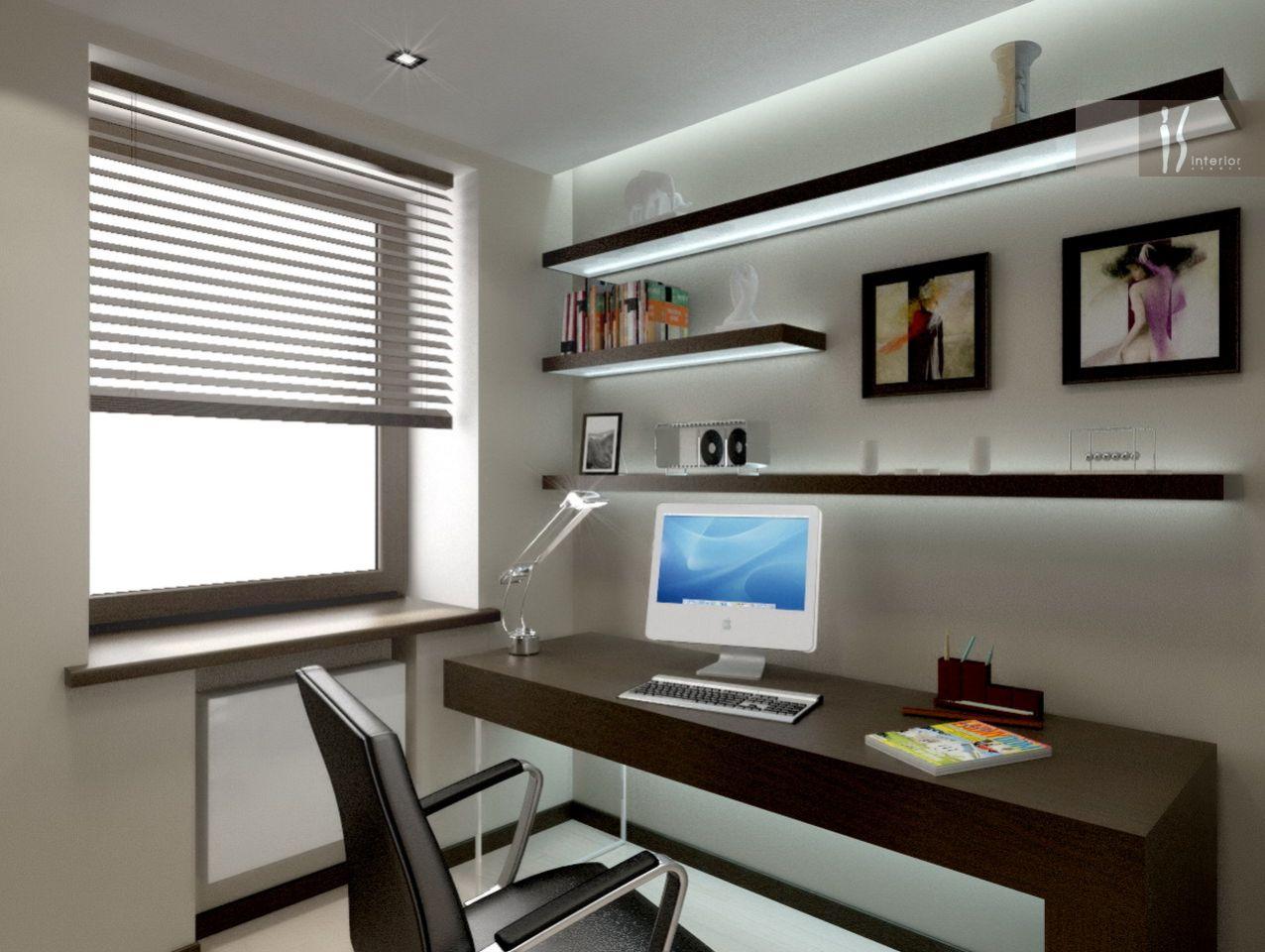 Дизайн маленьких рабочих кабинетов