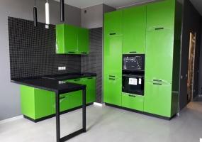 Кухня Зелёный флеш
